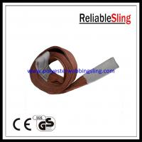 Wholesale 100% Polyester yarns flat webbing sling / belt 6 Ton 8 ton 10 Ton from china suppliers