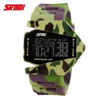 Wholesale Airplane Model Boys And Girls Fashion LCD Analog Watch Colorful from china suppliers