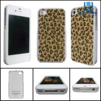Wholesale Deer lines 100% brand new Iphone4 / 4S protect case fiber + silica gel case / cover from china suppliers