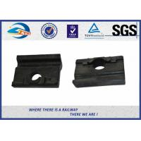 Wholesale Black Colored Angled Guide Plate WFP14k Plastic and Rubber Part for Vossloh Fastening System / Railway Insulator from china suppliers