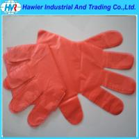 Quality High Quality Disposable Plastic PE Gloves for sale