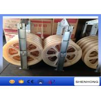 Wholesale Large Diameter Rope Pulley Conductor Stringing Blocks With Nylon Wheel from china suppliers