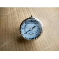 "Wholesale 1.5"" ( 40mm ) Back Entry Pressure Gauge with Steel Chrome Plated Case 	0-60psi from china suppliers"
