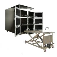 Wholesale ROUNDFIN morgue six body mortuary refrigerator/6 corpse morgue freezer for sale from china suppliers