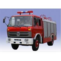 Wholesale Red Color Fire Fighting Truck 5000 Liter Water And 1500 Liter Foam With High Pressure Pump from china suppliers