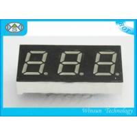 Wholesale 37.6X19X8 Mm 3 Digit 7 Segment LED Digital Display For Household Eletronics , 0.56 Inch from china suppliers