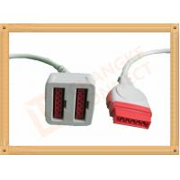 Wholesale 11 Pin To 11 Pin GE Dual IBP Cable / IBP Converter Cable 35CM from china suppliers