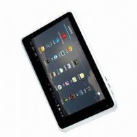 Wholesale 7-inch Capacitive Screen Tablet PC, 2.3/4.0 Google's Android Operating System, Built-in Mic from china suppliers