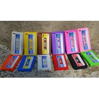 Wholesale Colorful Magnetic Tape Shape Iphone / Cell Phone Silicone Cases With OEM Logo from china suppliers