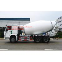 Wholesale 6x4 10Tires SINOTRUK HOWO 10CBM Concrete Mixing Equipment ZZ5257GJBM3841W Italy Hydraulic System from china suppliers