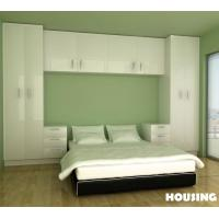 Wholesale Eco-friendly White Wardrobe Storage Cabinet For Bedroom , E0 Standard from china suppliers