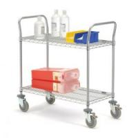 Wholesale Adjustable NSF Hospital Medical Storage Metal Cart from china suppliers