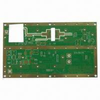 Wholesale PCB with 1.6mm Thickens, 1oz Copper, Immersion Gold Finish and 4 Layers from china suppliers