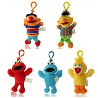 Wholesale Cute Sesame Street Plush Keychain Stuffed Toys with Hook For Promotion Gifts from china suppliers