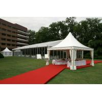 Wholesale Aluminum Frame 6m Pagoda Party Tent , Custom Marquee Wedding Tent from china suppliers