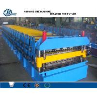 Wholesale Corrugated Iron Double Layer Roll Forming Machine , Concrete Roof Tile Making Machine from china suppliers