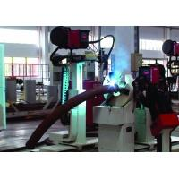 Wholesale Pipe bending and welding machine Bent pipe- Flange automatic welding system from china suppliers