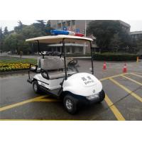 Buy cheap 48V Battery 2+2 Seater Electric Patrol Vehicle / Electric Police Car For 4 Person from wholesalers