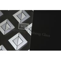 Wholesale 10MM painting tempered glass with flat polished edge from china suppliers
