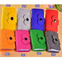 Wholesale Felt card bag ,Eco-friendly handmade polyester felt card holders, playing business card bag from china suppliers