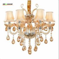 Wholesale Luxury Crystal chandelier lighting For Living Room lustre sala de jantar cristal Modern Chandeliers Light Fixtures Kitch from china suppliers
