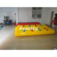 Quality Yellow / Red Color Inflatable Buoys For Water Park , Water Fence / Inflatable Buoys for sale