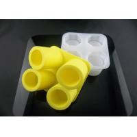 Wholesale Harmless & odourless 4 cups silicone cool shooters, ice shot glass mold 136g from china suppliers
