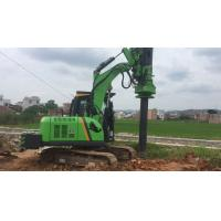 Buy cheap Max Piling Depth 12m TYSIM KR40A Small Hydaulic Rotary Piling Rig Urbanization  Piling Experts from wholesalers