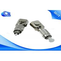 Wholesale FTTH  FC SC LC ST SM/MM RoHS Square  Bare Fiber Optic Adapter from china suppliers