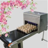 Wholesale Printing 120000 Eggs / H Egg Stamping Machine For Bar Code Or Graphic LOGO from china suppliers