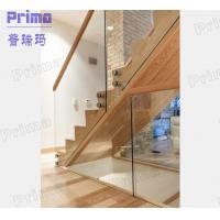Wholesale stainless steel standoff glass railings bracket for indoor staircase from china suppliers