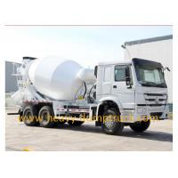 Wholesale Concrete transportation Concrete Mixer Truck with HW76 Lengthen cab from china suppliers