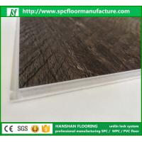 Wholesale Uniclic click system spc floor waterproof plastic vinyl flooring from china suppliers