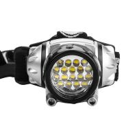 Wholesale 4 Brightness Level Choice LED Headlamps with 2 Red LEDs from china suppliers