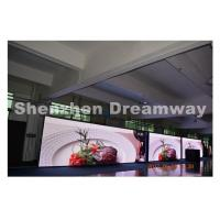 Quality SMD3535 Kinglight P 8 Outdoor Advertising LED Display Board with 5500 CD / m2 LED Studio for sale