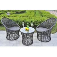 Buy cheap Fashional All Weather Wicker Patio Furniture , Outdoor Patio Table And Chairs from wholesalers