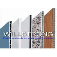 Wholesale UPVC Wall Cladding Corrugated Composite Panels , Aluminium Sandwich Panel from china suppliers