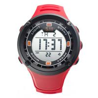 Wholesale Red strap Multifunction Digital Watches with 20mm Bands width , CE approved from china suppliers