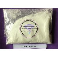 Wholesale Gaining Muscle Testosterone Anabolic Steroid Raw Powder Oral Turinabol  CAS 2446-23-3 from china suppliers