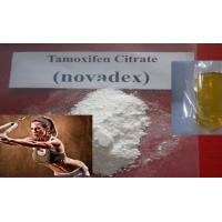 Wholesale Muscle Gain Anti Estrogen Steroids Tamoxifen Citrate Nolvadex CAS 54965-24-1 from china suppliers