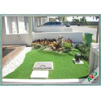 Wholesale Fullness Surface Emerald Green Artificial Grass Turf For Outdoor Landscaping / Garden from china suppliers