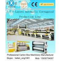 Wholesale 3 Layers Corrugated Packaging Box Making Machine 70m * 8.2m * 4.5m For Paperboard from china suppliers