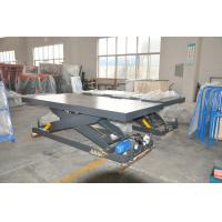 Wholesale Cargo Lift Table with 3 Metric Ton Loading Capacity With Well Mancraft from china suppliers