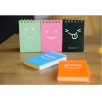 Wholesale wholesale customize mini sticky spiral note pad with hard cover from china suppliers