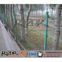 Wholesale PVC coating Double Strand Barbed Wire Fence from china suppliers