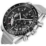 China BENYAR Men's Watches Wristwatches Men Watch Quartz Chronograph Top Brand Luxury Watch Business Male watches Clock for sale