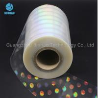 Buy cheap Anti Counterfeiting Label Laser Holographic Polyethylene BOPP Film For Food Medicine Box Packing from wholesalers