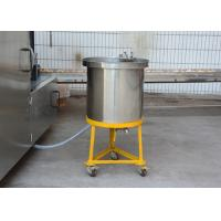 Automatic Sugar Cone Production Line , 380V Ice Cream Cone Baking Machine With Double Layered Panel Door