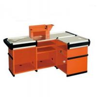 Wholesale Customized Orange Supermarket Checkout Counter Commercial Anti Rust from china suppliers
