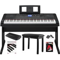Wholesale Yamaha DGX-660 88 Key Grand Digital Piano with Knox Piano Bench,Pedal,Dust Cover and Book/DVD from china suppliers